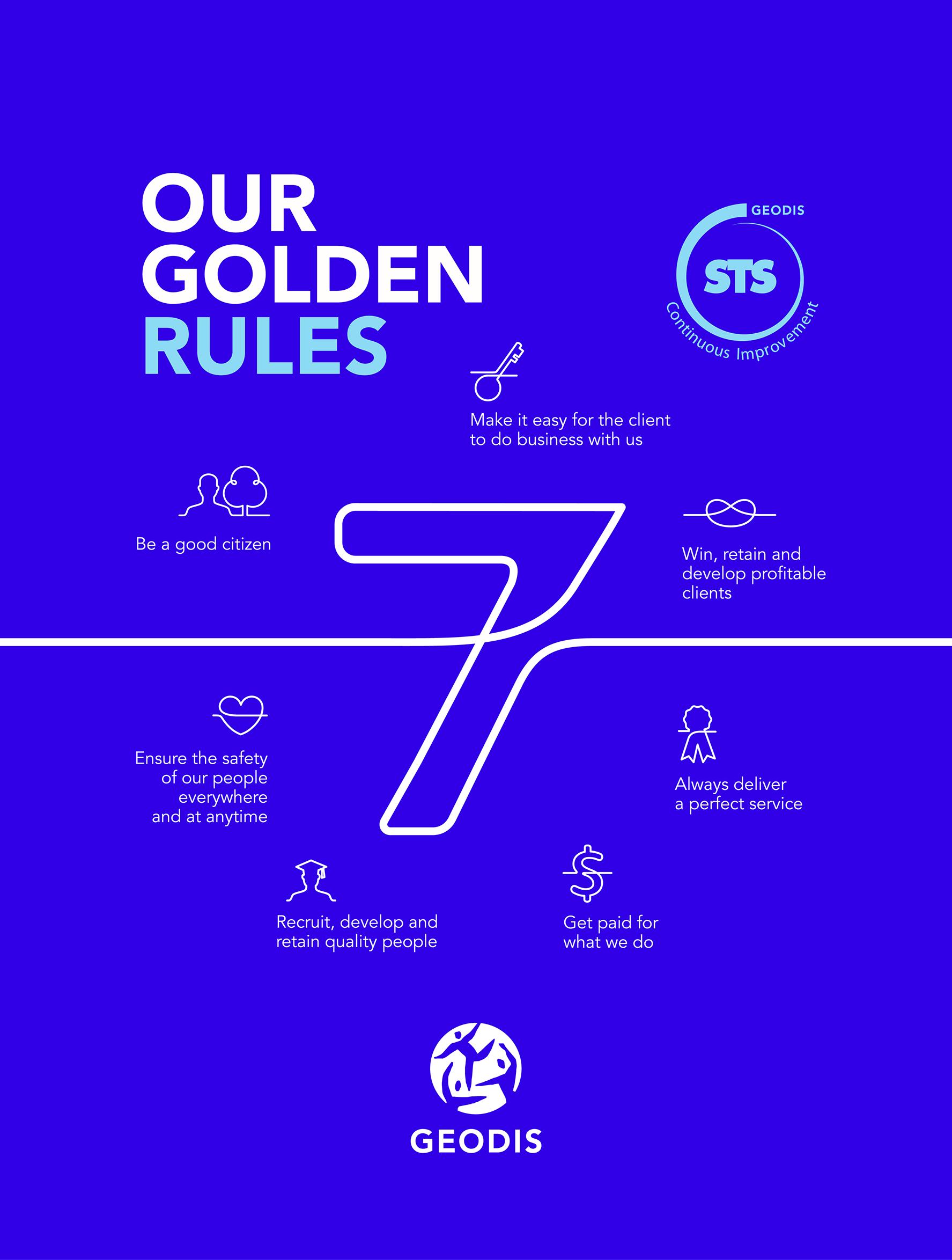 7 golden rules