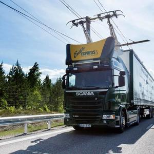 train on electric highway
