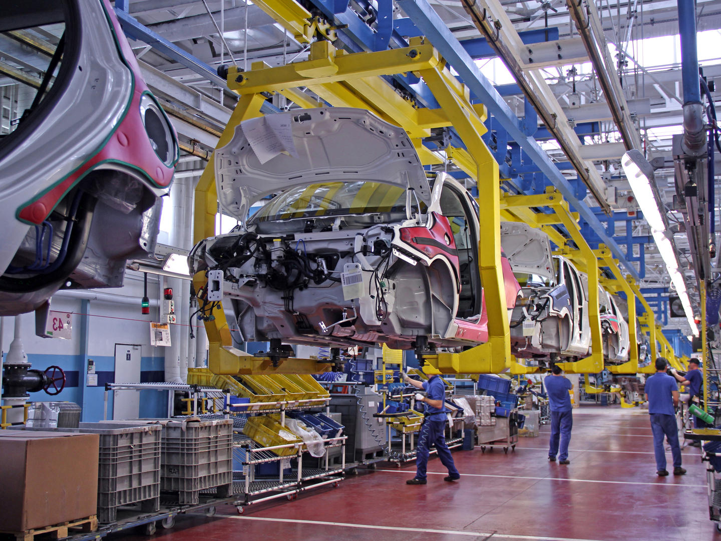 Automotive: 4 solutions for making your supply chain more flexible