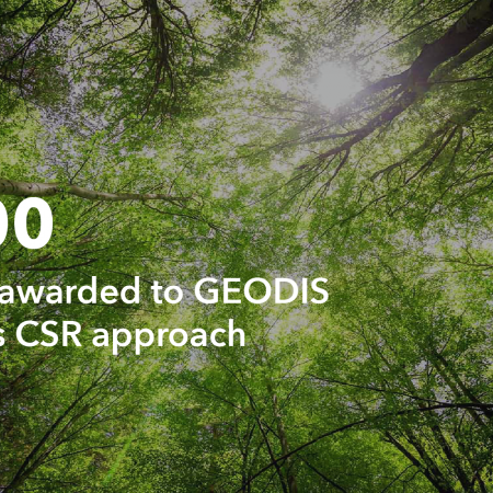 GEODIS receives its 6th Gold rating from EcoVadis
