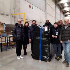 New partnership between GEODIS and UBISOFT for the supply chain in Italy