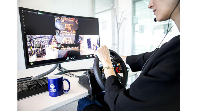 GEODIS has Partnered with Phantom Auto to Produce the First Remotely Operated Forklift