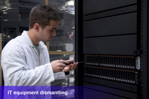 IT equipment dismanting