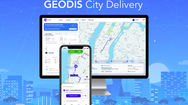 """GEODIS City Delivery""  for even faster urban deliveries"