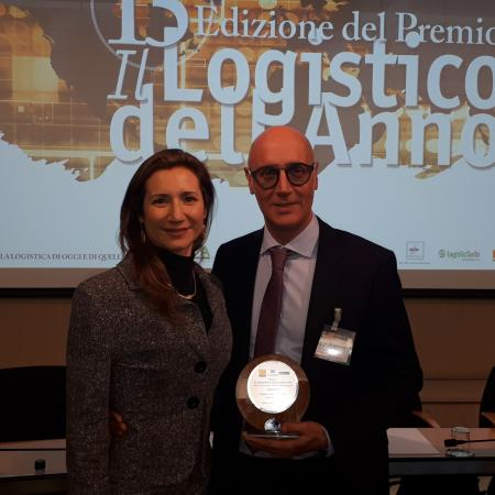 "GEODIS awarded ""Logistic of the Year 2019"""