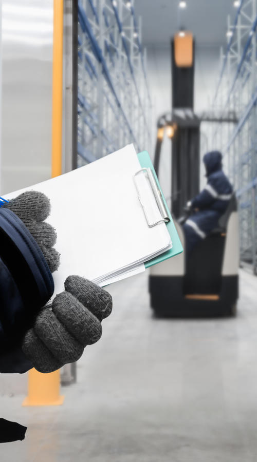 Dedicated, secure operations including cold chain solutions