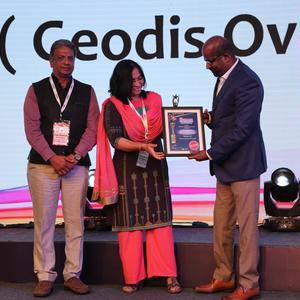 "Vanishree Haridasan, Regional Director for GEODIS India, named as ""Woman Professional of the Year"""