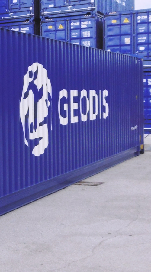 GEODIS containers