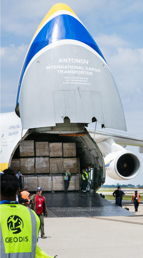 Turnkey Freight Forwarding and Direct Delivery solutions