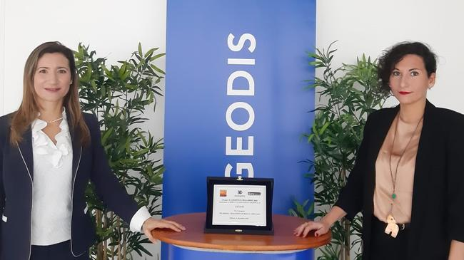 "GEODIS awarded ""2020 Logistics player of the year"""