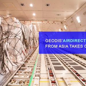 GEODIS' AirDirect Mexico service from Asia takes off